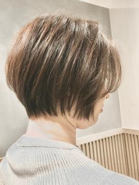 40代50代60代70代 くせ毛カット ボブ  -名古屋の美容室actif-