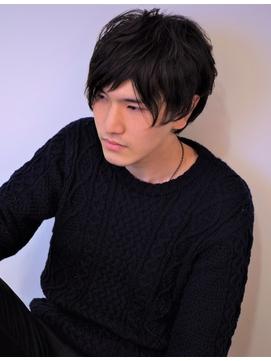 (ZENKO/工藤風太)黒髪に合う!ノームコアなミディアムショート