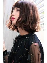 フェミニンパーマボブ 【タンバルモリ、セミウェット】 巻き髪.6