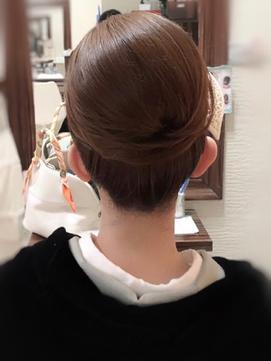 和髪アップスタイル(プラス¥1500)