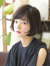 黒髪ショートボブで作る小顔ヘア【Killa原宿 表参道】 モテ.43