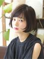 黒髪ショートボブで作る小顔ヘア【1】