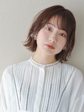 前髪×イメチェン×ラベンダーカラー×くびれ881