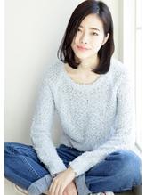 【HOULe】黒髪×ワンレンロブ★コモダショウヘイ ピュア.35