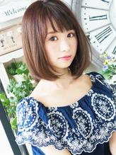 【ジュレベール 松田】 ナチュラル可愛い~大人フェミニンボブ♪ ボブ.31