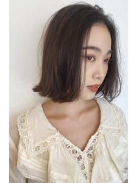 【女性stylist杉崎】大人シンプルボブ