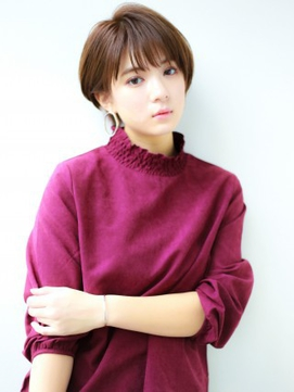 【K-two青山】イルミナカラー×大人可愛いセンシュアルショート