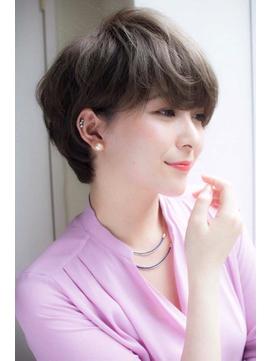 【lond avenir本田奈穂美】横顔美人のショートスタイル