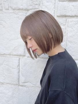 【東 純平】シンプル 小顔 ぱつっとボブ