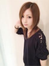 【S4】チョコミント×ディスコネ柔らかストレート レイヤー.26
