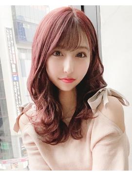 【regalo】春の柔らかフェミニンモテ髪ヘア 小顔スタイル