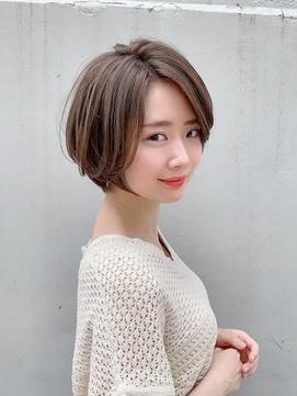 【東 純平】大人可愛い 柔らかい質感 ゆるふわショートボブ