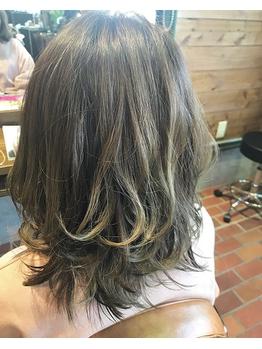 ネイビーヘアー(NAVY hair)