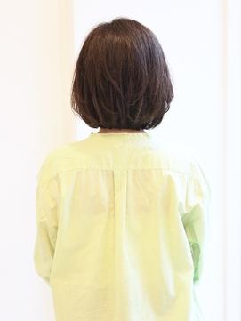 【えがお美容室】40代50代に人気◎簡単スタイリングボブ