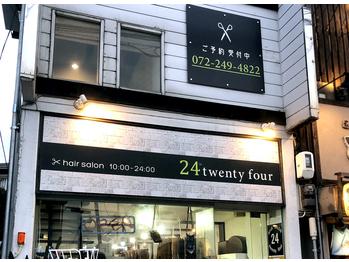 トゥエンティーフォー(24)(大阪府堺市西区/美容室)
