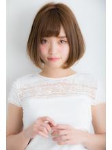 【Euphoria銀座本店】お手入れ簡単☆愛されボブ♪長谷川 前髪パーマ.38