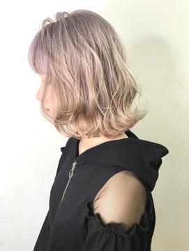 【SOURCE】ホワイトパールピンク