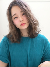 センターパート×ニュアンスカール☆洒落感レトロウェーブ.7