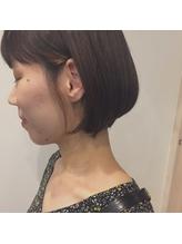 首が綺麗に見える襟足スッキリシャープボブ.57