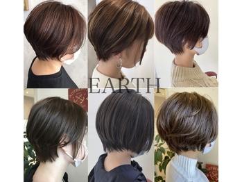 アース 鶴岡店(HAIR&MAKE EARTH)(山形県鶴岡市/美容室)