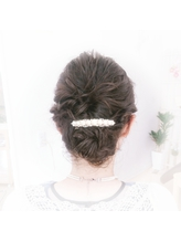 まとめ髪.9
