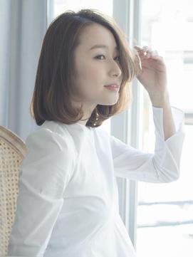 【THREEbyKEEP尾山台、関谷】髪質改善カラートリートメントボブ