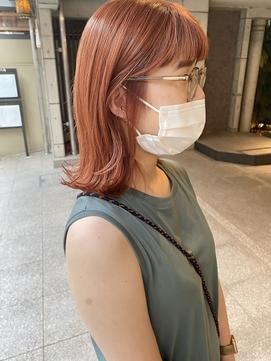 【LITA】アプリコットオレンジ × ロブ ◎ 大岩