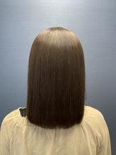 tuuli 杉嶋梨紗 髪質改善 ボブ ことりベージュ つや 143.54