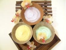 天然精油を使ったアロマのクリーム!お好きな香りを選べます。