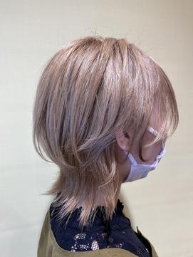 ウルフカット【オージュア/ショートカット得意サロン】