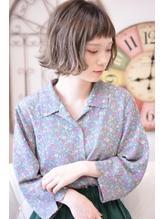 ギザショートバングが可愛いキュートな外ハネボブ【メイズ鍛原】 シルバー.58