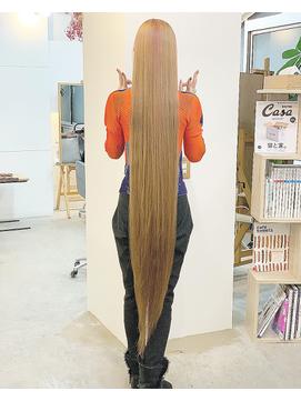 ☆☆☆  渋谷ストレート髪質改善トリートメントイルミナカラー