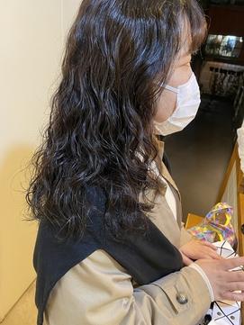 【MIKU】カーリーヘアパーマ