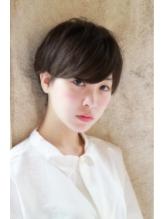 【+~ing deux】大人かわいい 厚めバング ショート☆ .14