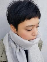 大人女性向け◆冬の黒髪ショートスタイル .10