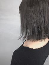透明感白髪染め スモーキーベージュ mio kuwamoto.49