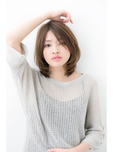 【Ramie omotesando松下哲史】30代40代向け大人可愛いひし形ボブ .24
