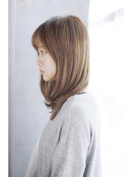 吉祥寺3分/ウォーターフォール毛先パーマ黒髪ことりベージュ/116