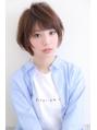 『PD伊川谷』ママさんにおすすめ☆前下がり小顔ひし形ショート★
