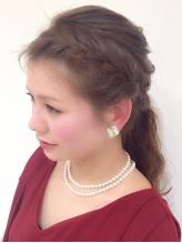 【駅30秒・P有】『ヘアセット¥3456』結婚式のヘアや着物の着付けもOK♪大切な日はより華やかに可愛く!