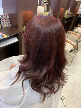 明るい白髪染め マニキュア(オルディーブルドレス)