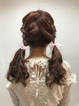 【prize池袋西口】YUKO 編み込みツイン