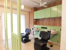 【立川】Relaxできるシャンプー台☆ここも緑です♪【sheep立川】