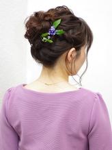 【RecRe hair】編み込みお団子スタイル。.18