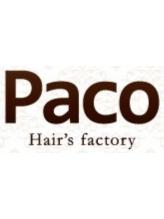 ヘアーズファクトリー パコ(Hair's factory Paco)