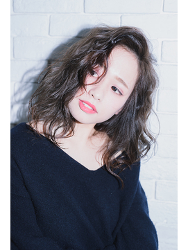 【miel hair blanc】かき上げ前髪のアンニュイミディ☆★
