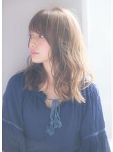 【drive for garden西川】柔らかデジタルパーマグレージュロブ 40代.42