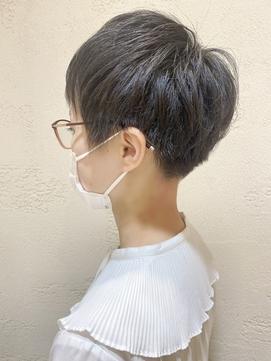 【morio】刈り上げ女子☆ショートスタイル