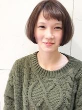 〈morio成増 芹澤〉大人かわいい  キュート ショートバング ボブ.57