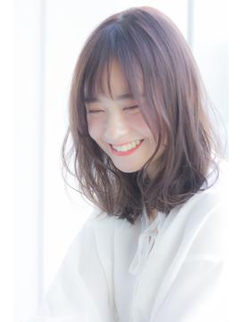 【Ramie寺尾拓巳】低温デジタルパーマバレイヤージュミディアム